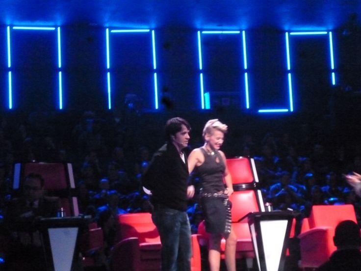 Llego Luis Fonsi acompañando a Fanny Lu en la etapa de la voz Colombia