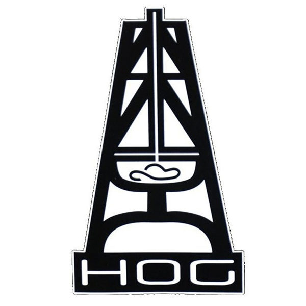 Hooey Large Hog Sticker 12 95