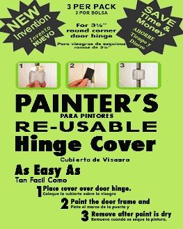 Save 80% on construction, painting and home improvement cost. FREE SAME DAY SHIPPING  http://hingecovers.com/Magnetic-Door-Hinge-Cover_c7.htm  youtu.be/DUbnxVU1OrI