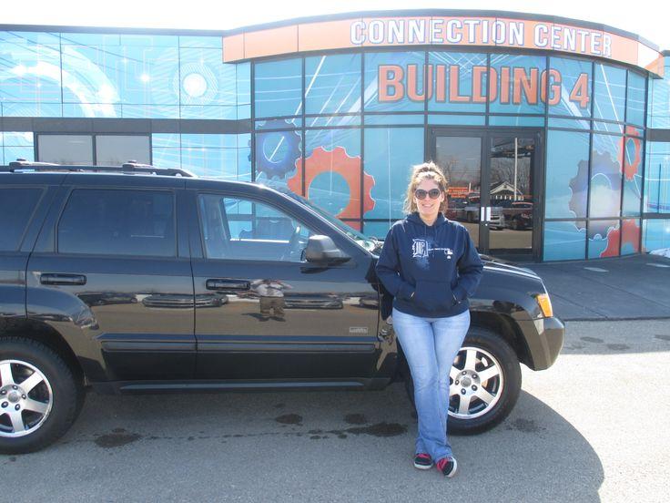 Enjoy your new 2008 Jeep Grand Cherokee, Stephanie Leach!!!