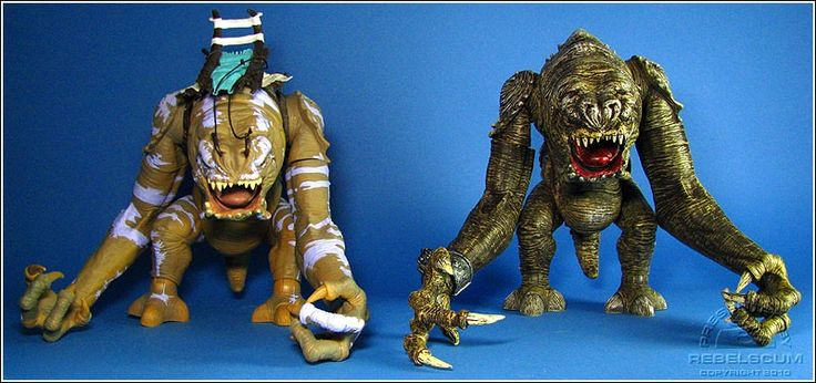 The Force Unleashed Rancor toy