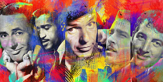 Nostalgic Art - The Rat Pack Art By Nostalgic Art