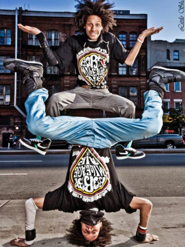 Les Twins Larry Bourgeois and Laurent Bourgeois