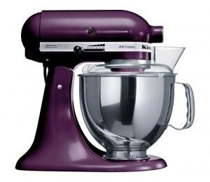 purple kitchen aid.... If you know me, you know this is for decoration purposes only! :-)