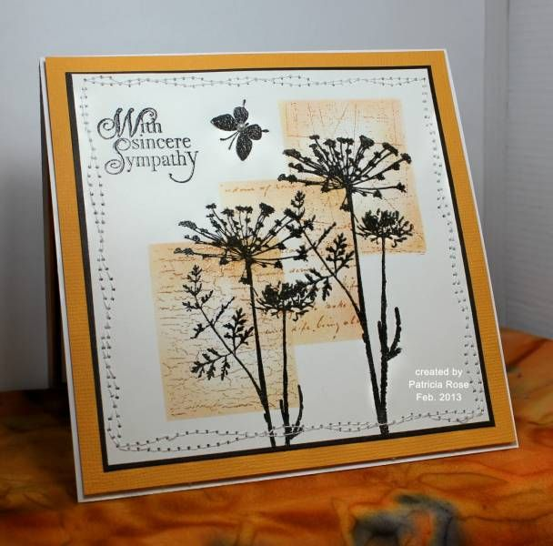 TLC415, CAS206, With sincere Sympathy by kokirose - Cards and Paper Crafts at Splitcoaststampers