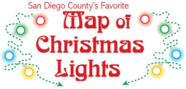 San Diego Family's 2015 Neighborhood Map of Christmas Lights is here! Check out this fun and free activity to do with your family at Magic925.com