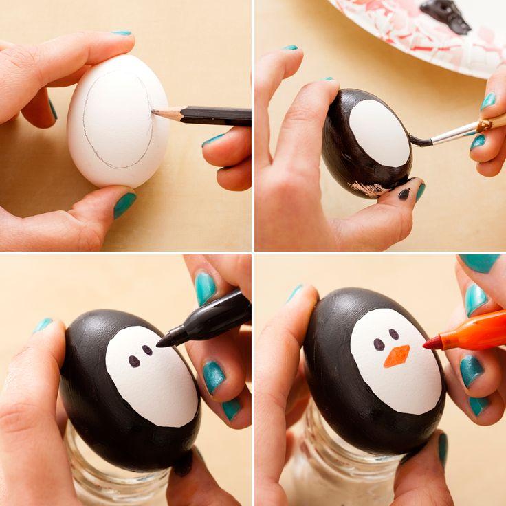 Haz unos huevos de Pascua con figuras de animales ~ Solountip.com