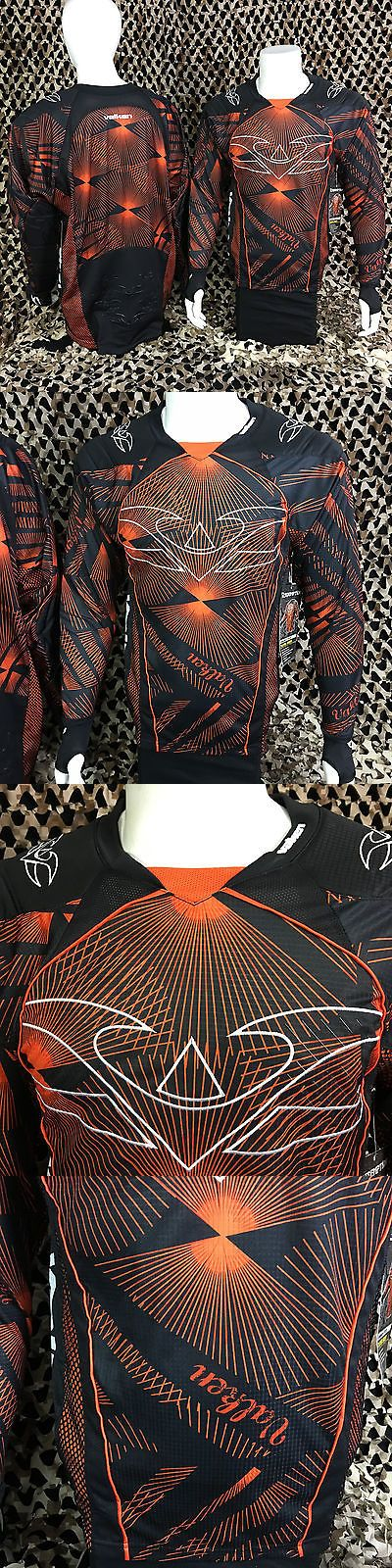 Jerseys and Shirts 165939: New 2013 Valken Redemption Padded Tournament Paintball Jersey - Orange Slash -> BUY IT NOW ONLY: $44.95 on eBay!