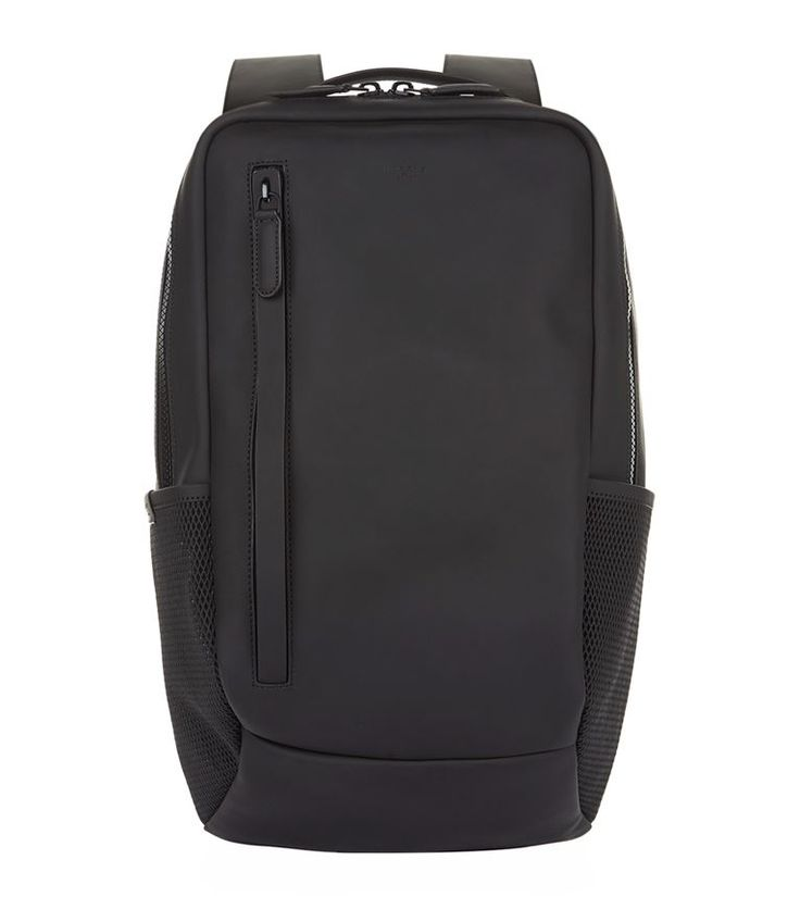 HARRYS OF LONDON Skydive Tech Leather Backpack. #harrysoflondon #bags #leather #backpacks #
