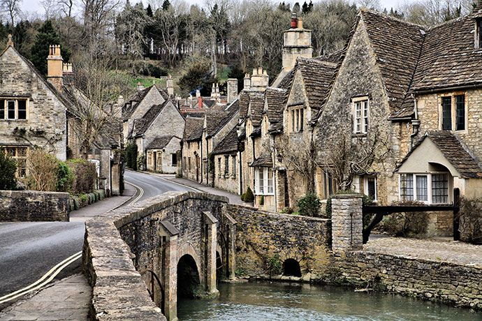 "Castle Combe, England - ""The prettiest village in England"""