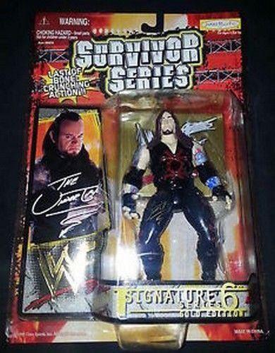 WWF The Undertaker Survivor Series Gold Edition 1999 action figure NIB WWE NIP