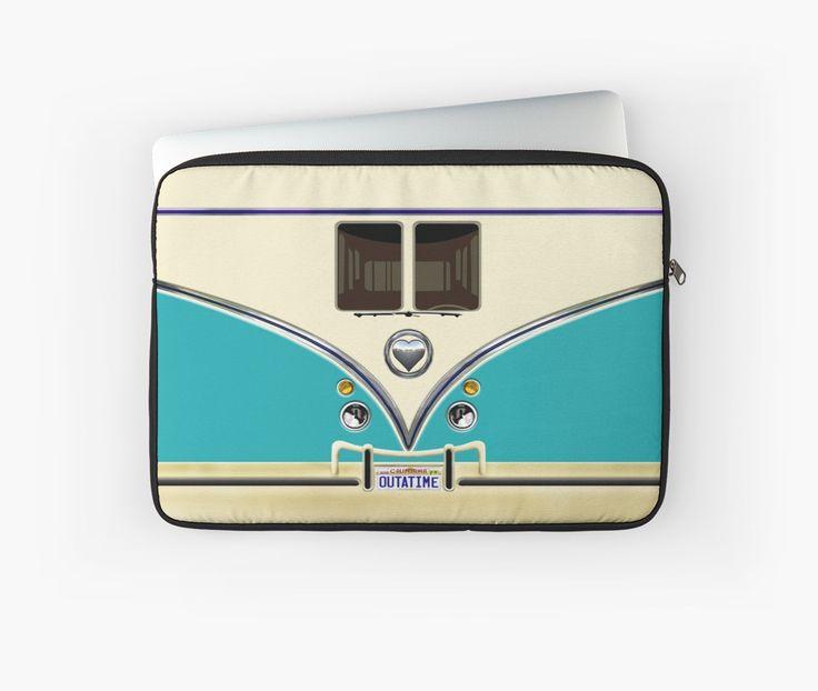 kawaii Blue teal love bug mini bus Laptop Sleeves @pointsalestore #LaptopSleeves #laptop #funny #cute #fun #lol #veedub #golf #kombi #minivan #minibus #beetle #bus #camper #retro #splitwindow #van #vintage #bumper #car #lovecar #offroad #campercar #microbus #pickup #transporter