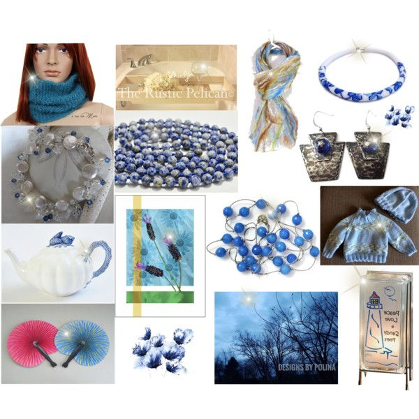Choice picks from Etsy Shops by cozeequilts on Polyvore featuring Nature Home Decor and Lampara