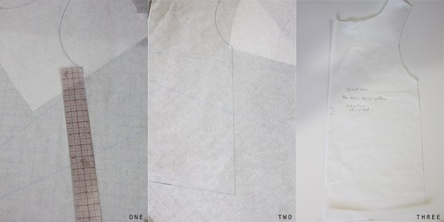 """I love making blouses for myself and I often share them here with only a partial tutorial. I tend to say """"start with a basic blouse pattern"""" vaguely which doesn't really help you! So I thought I'd share how I draft my basic blouse patterns. This basic blouse is the basis for all of my …"""