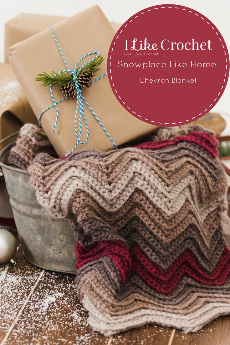 A Classic, Yet Elegant Chevron Stitch Makes This Blanket Feel Extra Warm—ideal  For Winter It's The Perfect Blanket To Have On Hand, And It's A Great