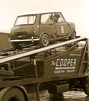 Mini Cooper - and here's really a Cooper