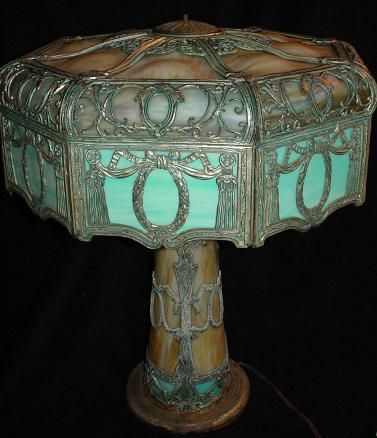 slag glass lamps for sale prices do not include the 10 buyers premium
