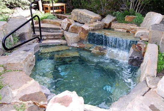 Bem-vindo ao River Club Telluride – Jacuzzi em pedra natural   – Teiche und Pools