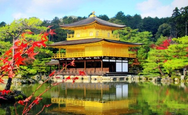 Tempat Wisata Terbaik di Jepang - Golden Pavilion