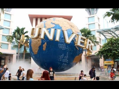 Universal Studios Singapore   Full HD video   Complete Tour USSG All Major Rides & Attractions - YouTube