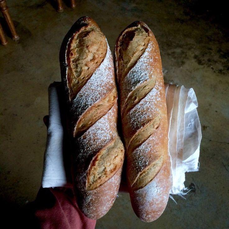 바게트 만들기 (프랑스식, 간단한 방법) : 네이버 블로그
