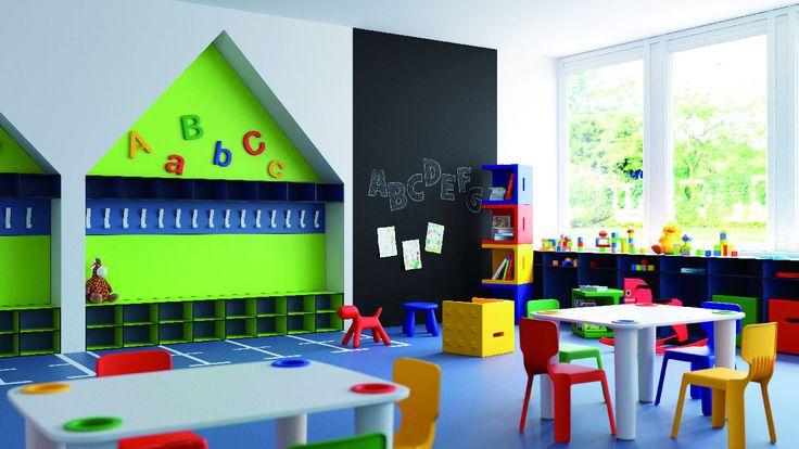 Tablero compacto de FINSA Aula infantil