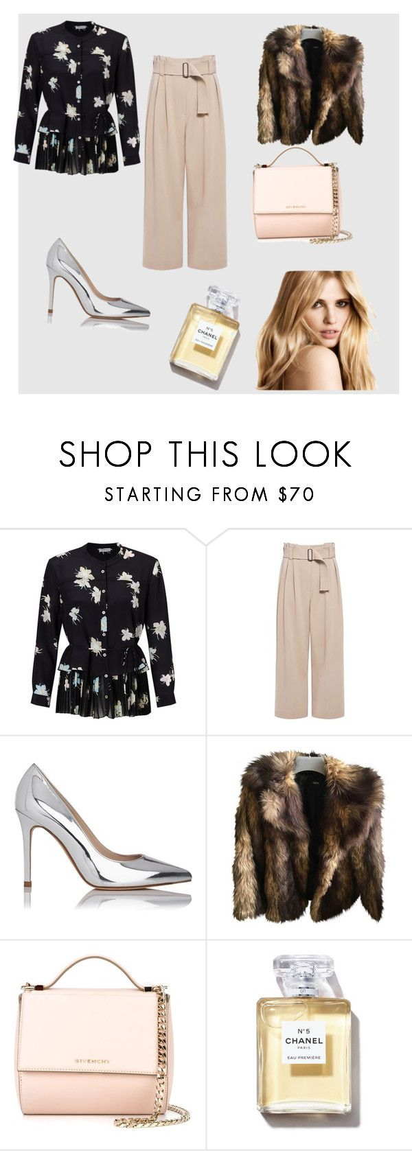 """""""Intalnire speciala 😏"""" by tudoradina ❤ liked on Polyvore featuring Marella, A.L.C., L.K.Bennett, ASOS and Givenchy"""