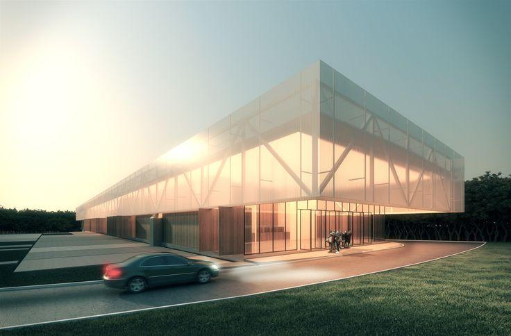 Proposta vencedora para o Centro Cultural de Eventos e Exposições em Nova Friburgo  / Estúdio 41