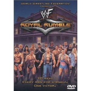 WWF Royal Rumble 2001 Original WWF Logo Present