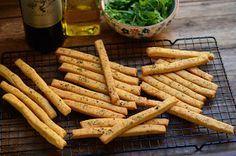 Palitos de queso parmesano y orégano!