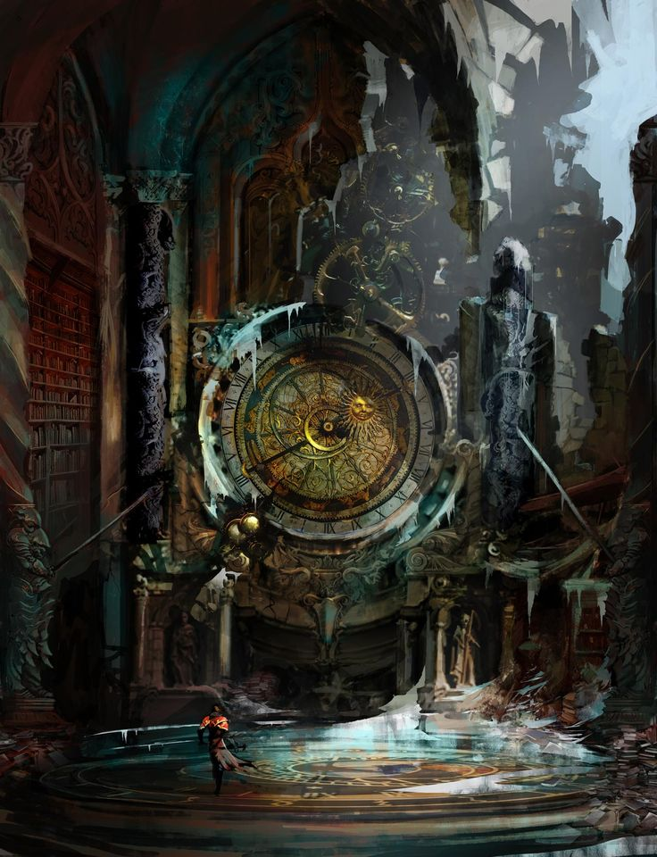 ... when they launch, for both the Xbox 360 and Playstation 3 versions of Castlevania: Lords of Shadow. In the mean time, check out this fancy concept art!