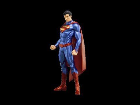 "Kotobukiya Superman New 52 ""DC Comics"" ArtFX + Statue. Menos de 50 dólar..."