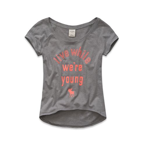 Abercrombie Kids Girls Quinn Tee