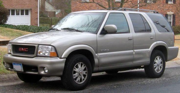 GMC Jimmy Envoy - Chevrolet S-10 Blazer - 1998-2000