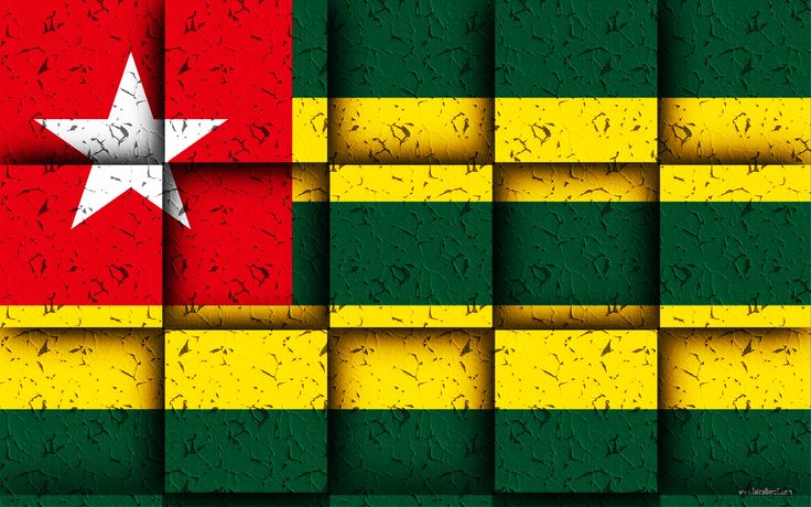 #togo #flag #HD #Wallpapers #for #laptops #and #pcs.