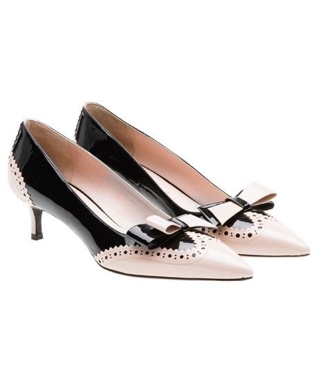 The A to Z of Shoe Shopping: M is for Miu Miu - fall 2013 - Perfect Kitten heel! Description from pinterest.com. I searched for this on bing.com/images
