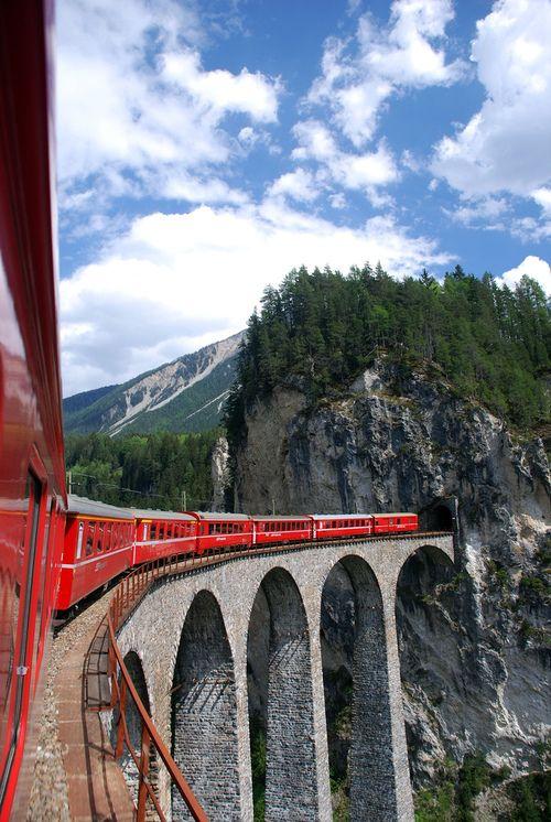 Glacier Express Route | Switzerland