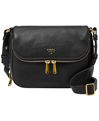 Fossil Preston Leather Small Flap Crossbody. My new obsession.
