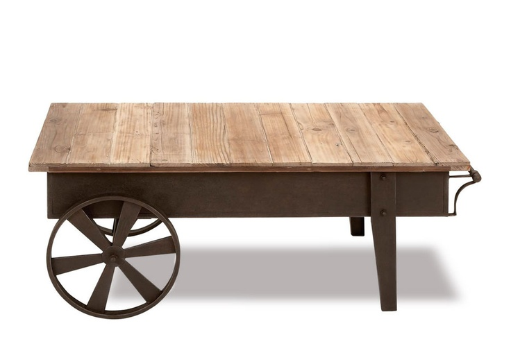 awesome industrial coffee table