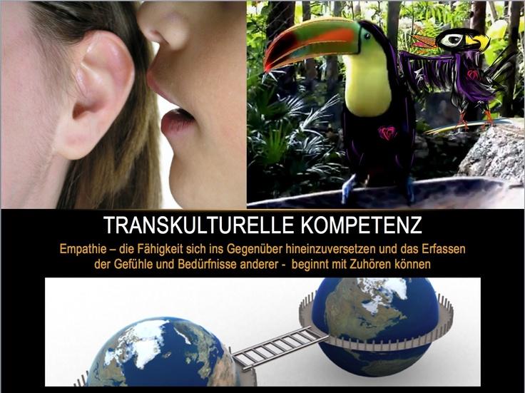 http://isense4u.de/isense4u_2012/Grune_Verbundenheit.html #Sensy und sein exotischer Freund (pick auf's Bild) wissen: #Empathie beginnt mit #Zuhoeren #Transkulturelle_Kompetenz erkennt #Menschen an mit ihrer fremden #Lebenssituation und ihre je besondere Form der #Wahrnehmung im #Denken, #Fuehlen und #Handeln. http://www.transkulturelles-portal.com/index.php/9/95 also #lebe_lieber_leichter und #pieps_mich_an zum kostenfreien Erstgespräch 08822 25 40 10