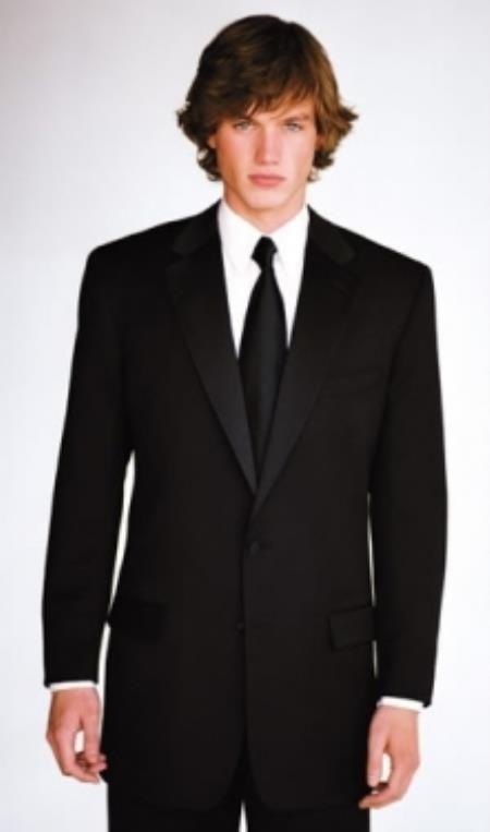 SKU#PV-69 Calvin Klein Slim Fit Tuxedo Super 130