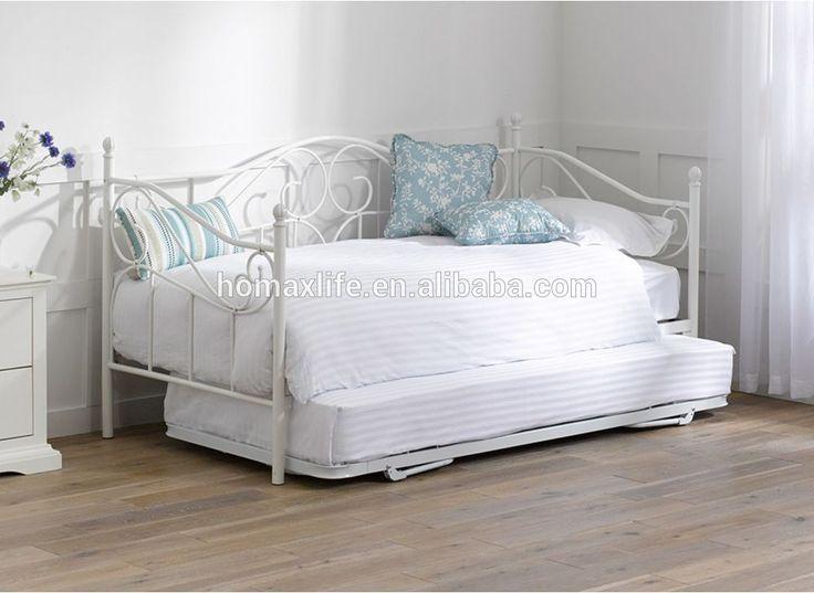 Nwe estilo europeo forjado de metal/hierro sofá/cama de día