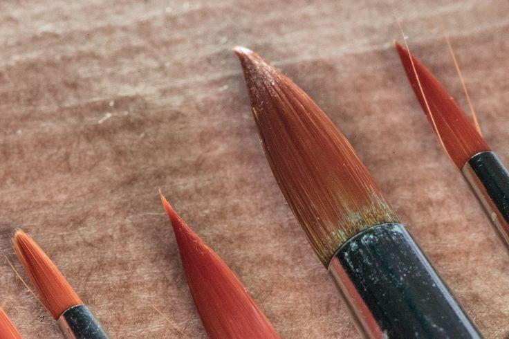 https://flic.kr/p/SJmS3L | Paint brushes | Sony A7 Macro Bellows Carl Zeiss Sonnar 135mm 3.5