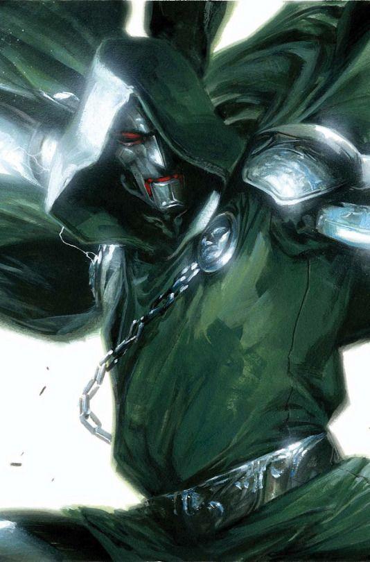 Dr Doom by Gabriel Dell'Otto