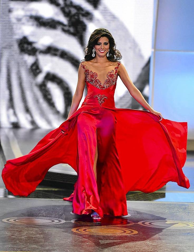 Lucia Aldana Miss Kolumbia - 2013