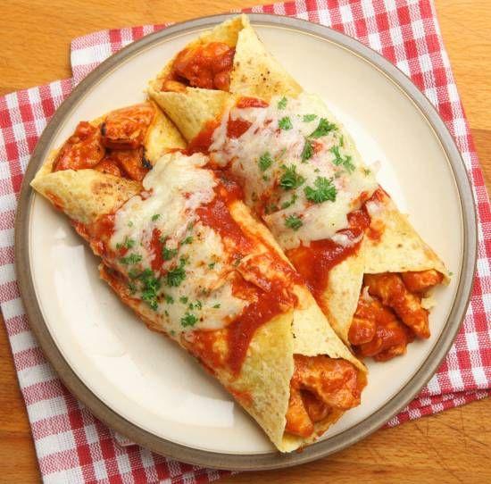 Enchiladas met Kip en Kaas