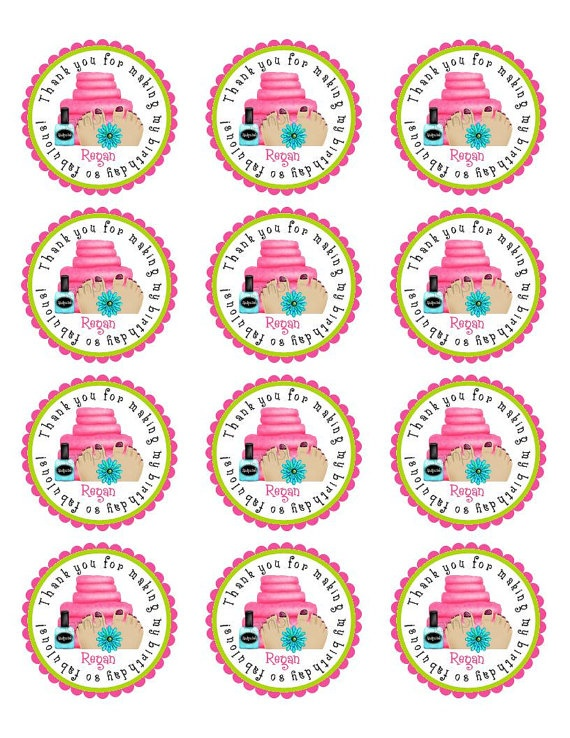 party favor tag printable