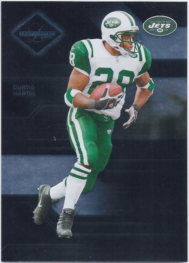 7a94dc083a4 Curtis Martin New York Jets 2005 Leaf Limited Card 69 (73 of 599)