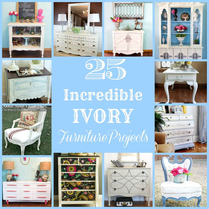 25 Incredible Ivory Furniture Projects