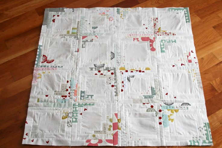 A Maze & Vale converging corners quilt top